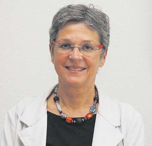 Die Vorsitzende von Agenda 21 Meldorf, Frau Anke Cornelius-Heide