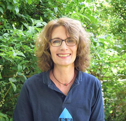 Frau Sabine Egge-Witt aus dem Vorstand von Agenda 21 kümmert sich mit viel Herzblut um die Kinder Ferien Aktion.
