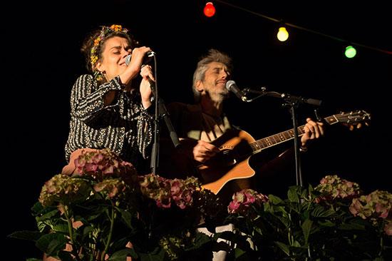 Musik beim Festival in Meldorf
