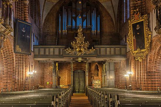 Der Meldorfer Dom von innen