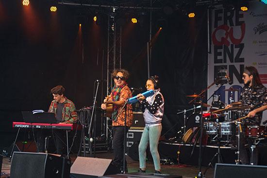 Ema Yazurlo beim Festival